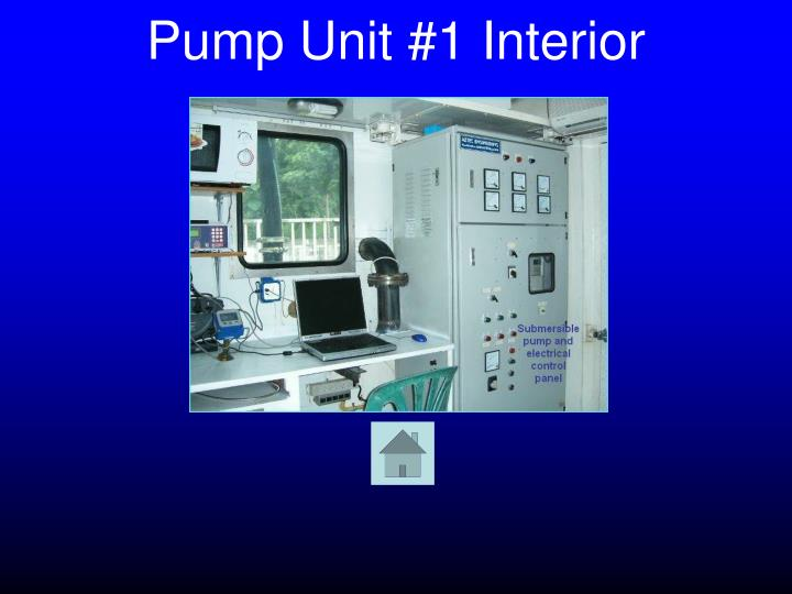 Pump Unit #1 Interior