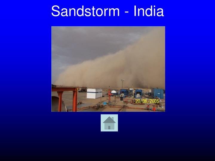 Sandstorm - India
