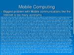 mobile computing11