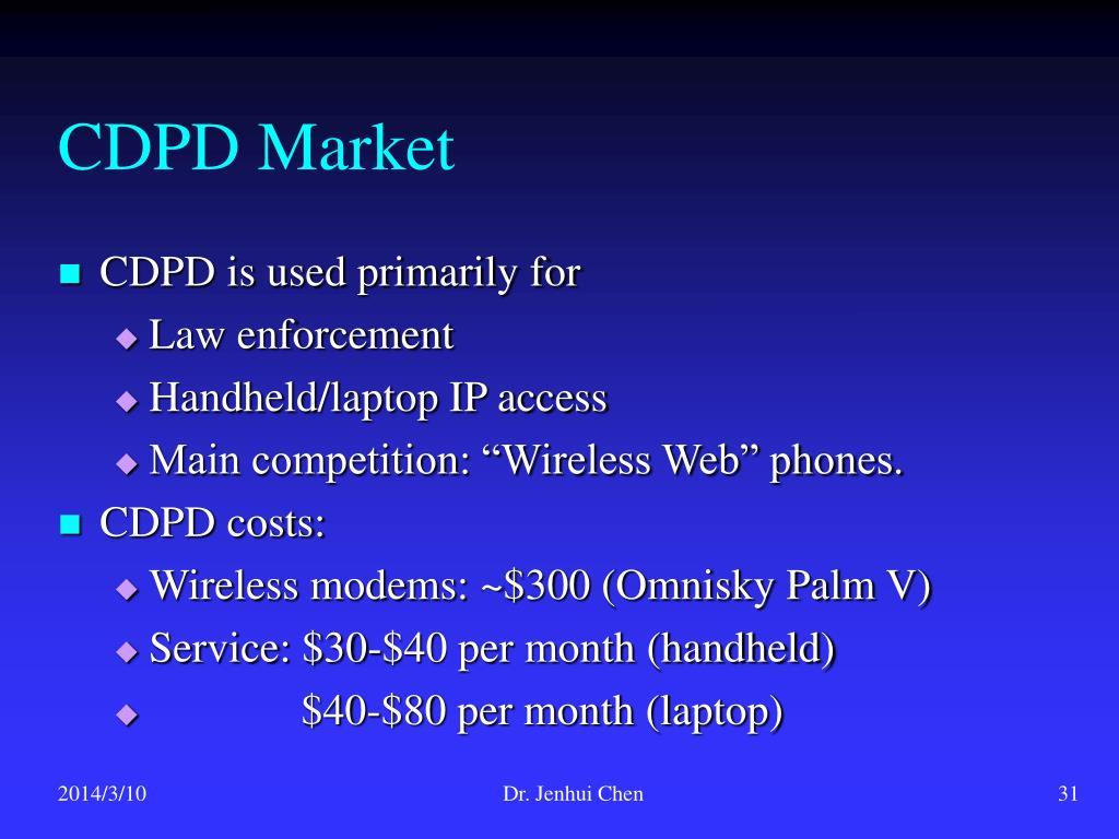 CDPD Market
