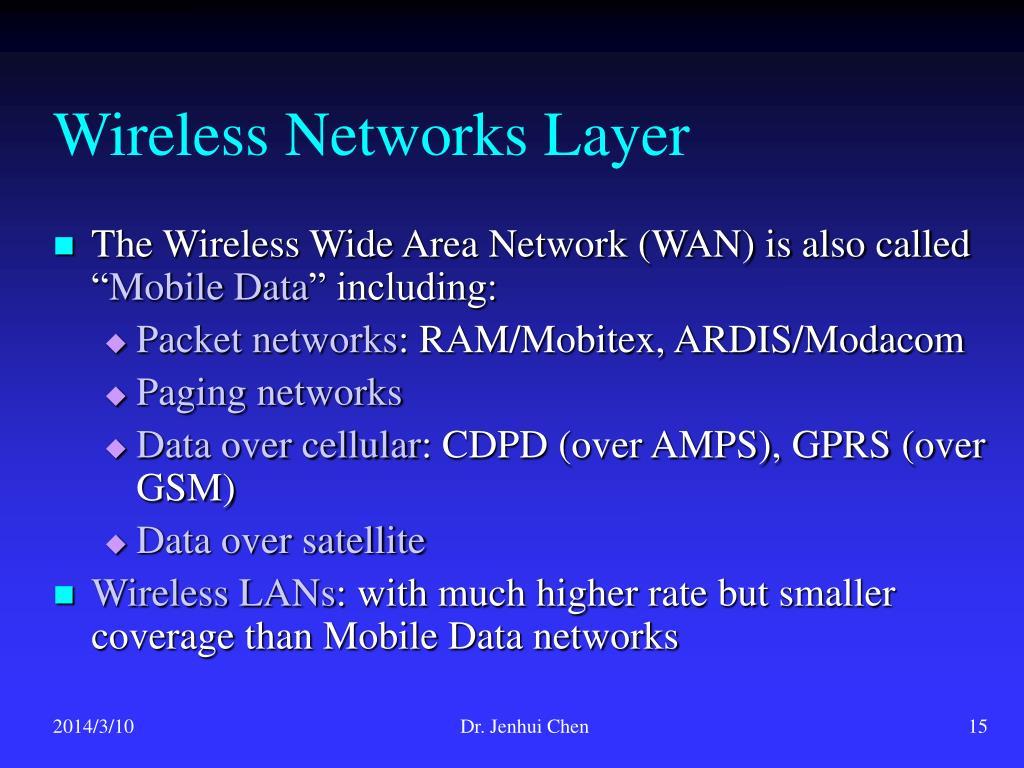 Wireless Networks Layer