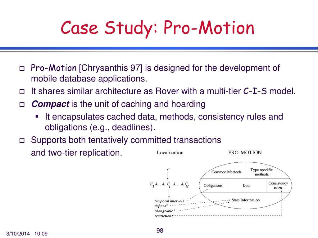 Case Study: Pro-Motion