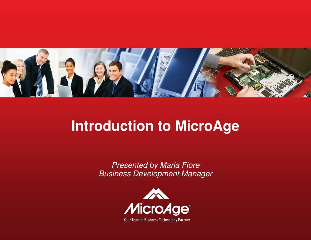 Introduction to MicroAge