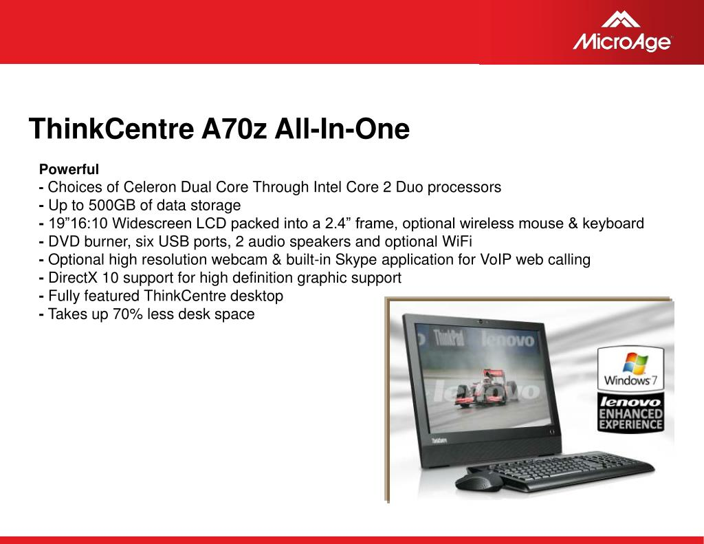 ThinkCentre A70z All-In-One
