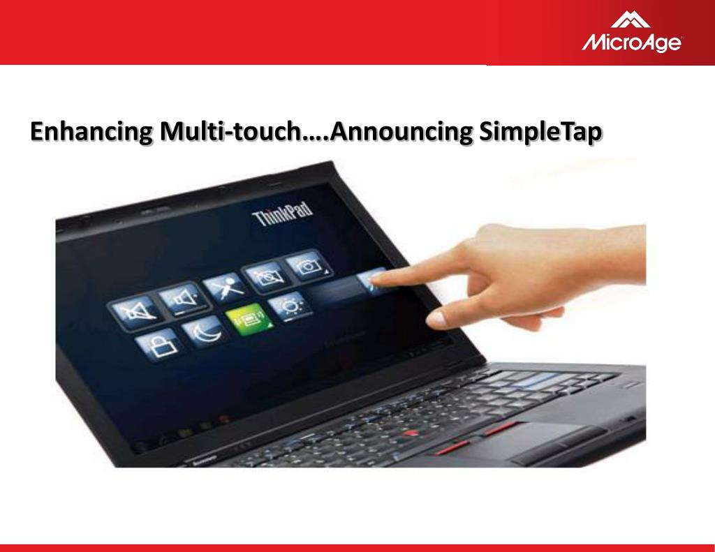 Enhancing Multi-touch….Announcing SimpleTap