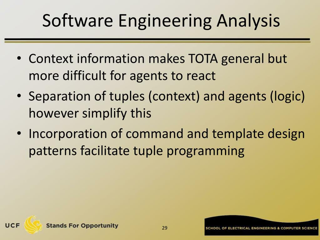 Software Engineering Analysis