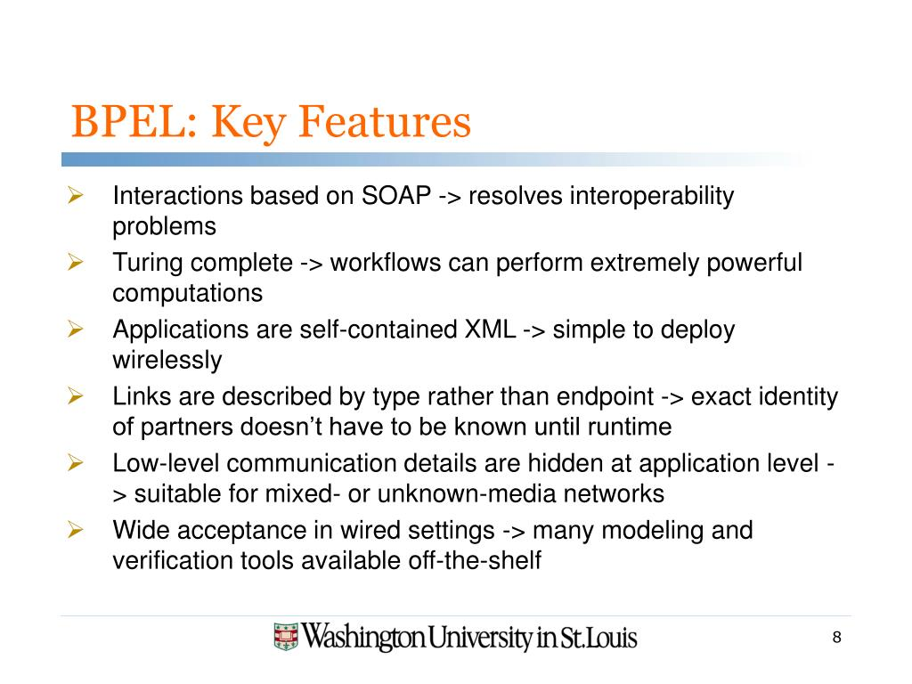 BPEL: Key Features