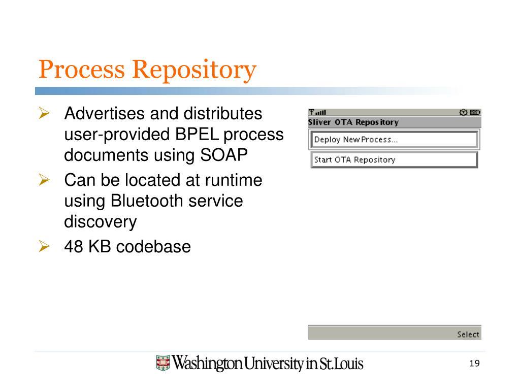 Process Repository