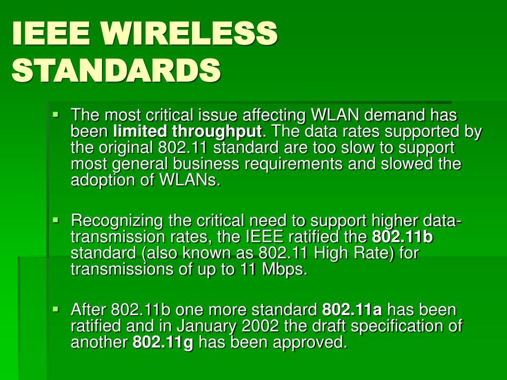 IEEE WIRELESS