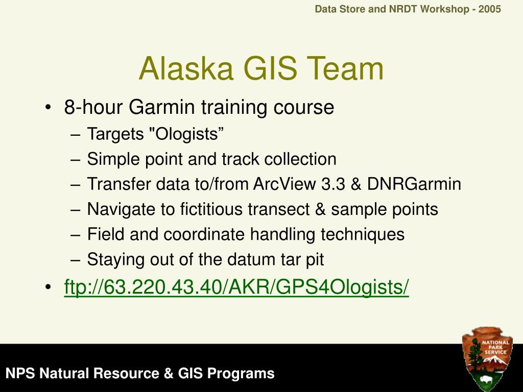 Alaska GIS Team