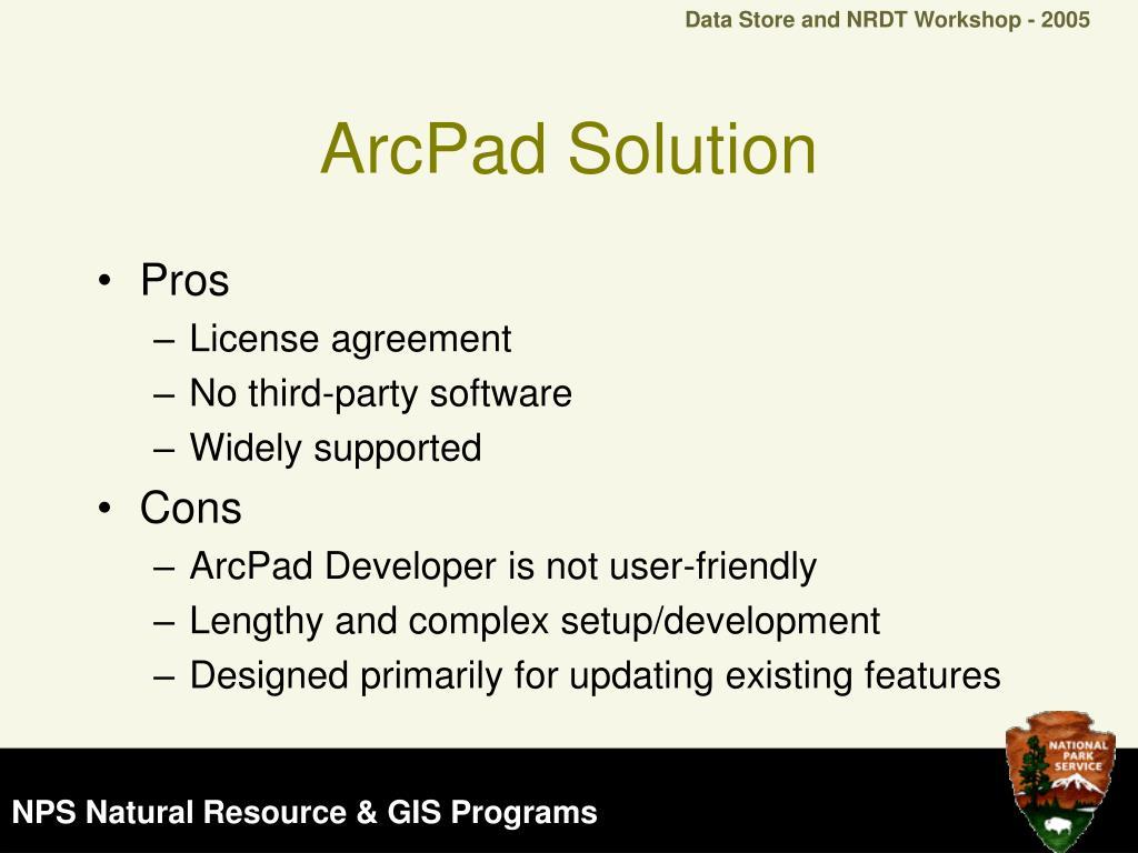 ArcPad Solution