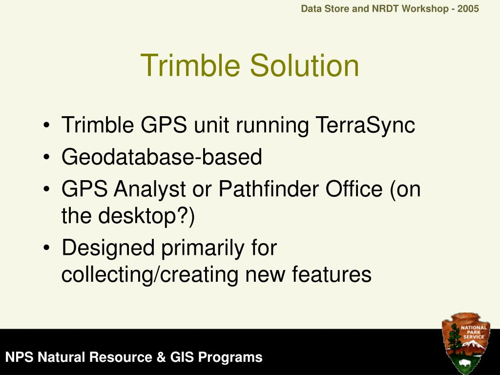 Trimble Solution