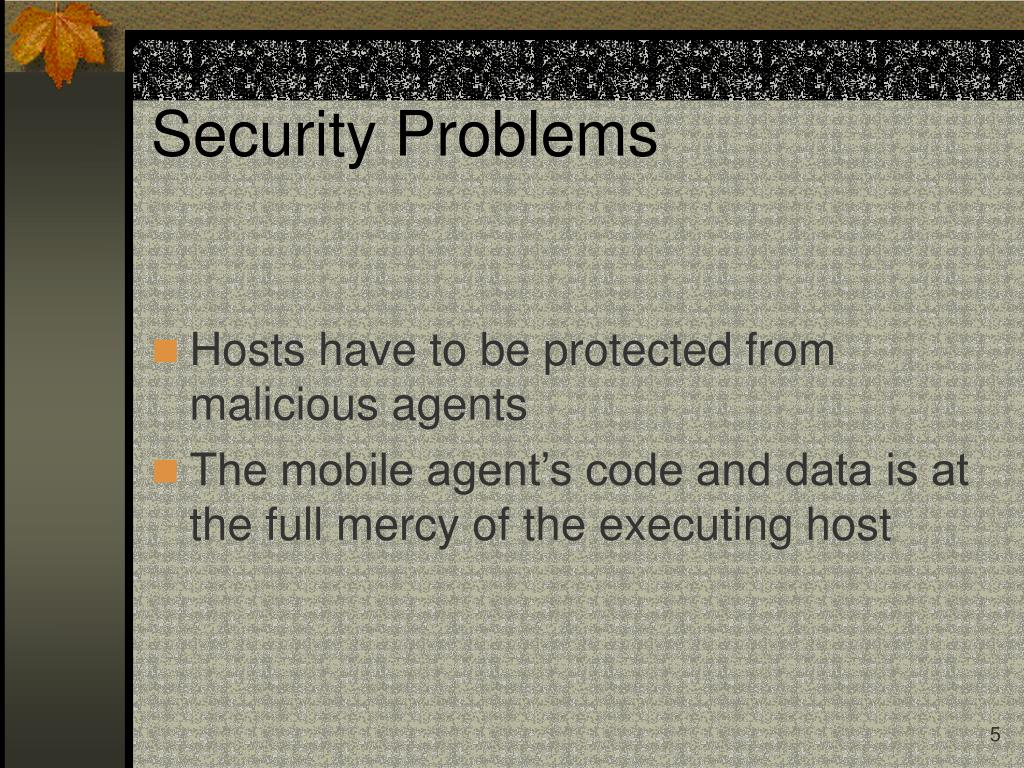 Security Problems