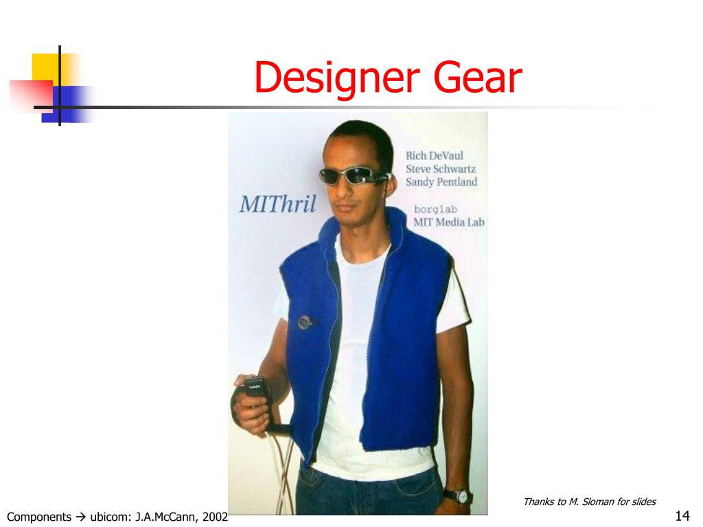 Designer Gear
