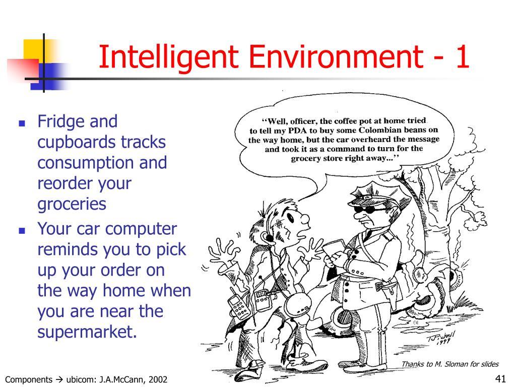 Intelligent Environment - 1