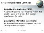 location based mobile commerce37