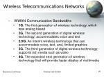 wireless telecommunications networks25