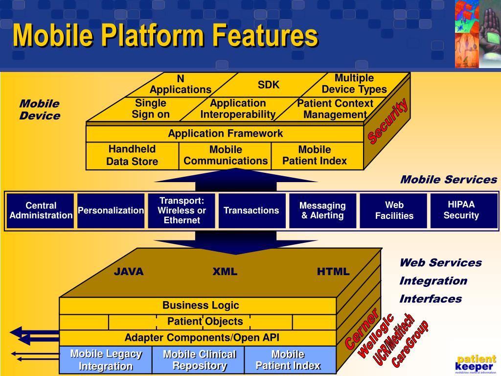 Mobile Platform Features
