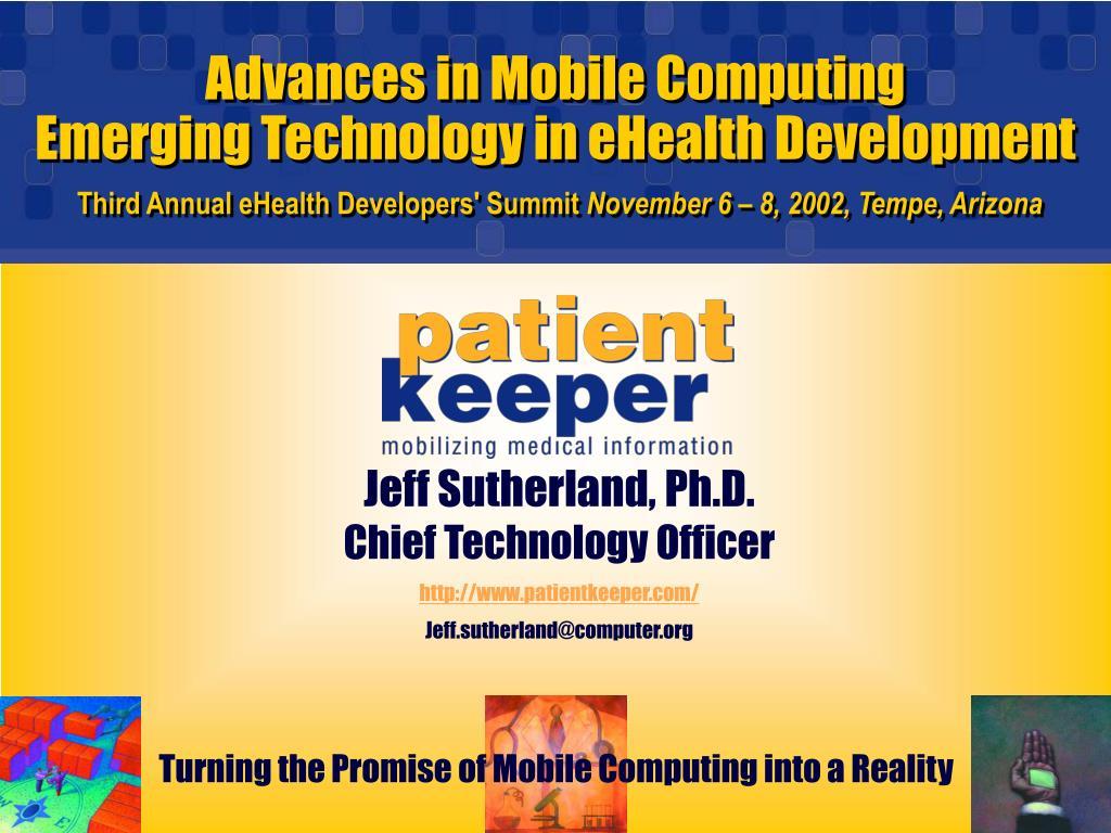 Advances in Mobile Computing