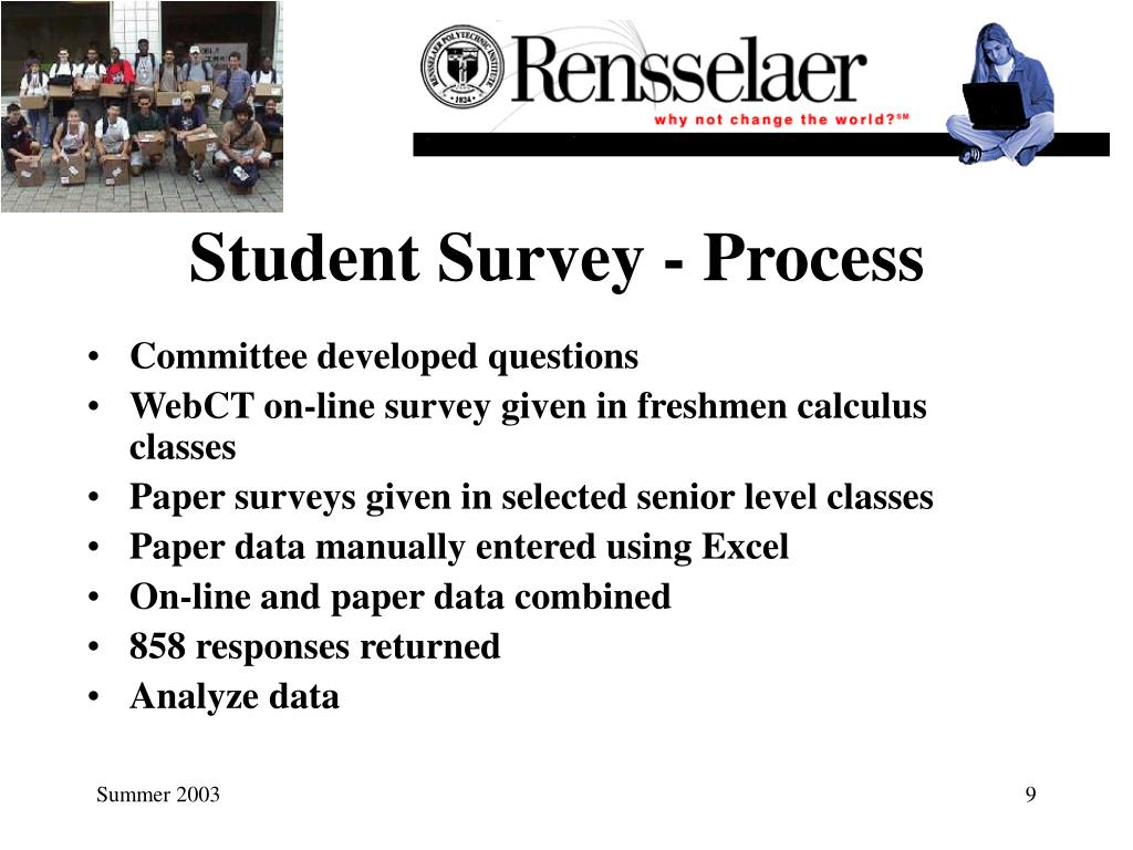 Student Survey - Process