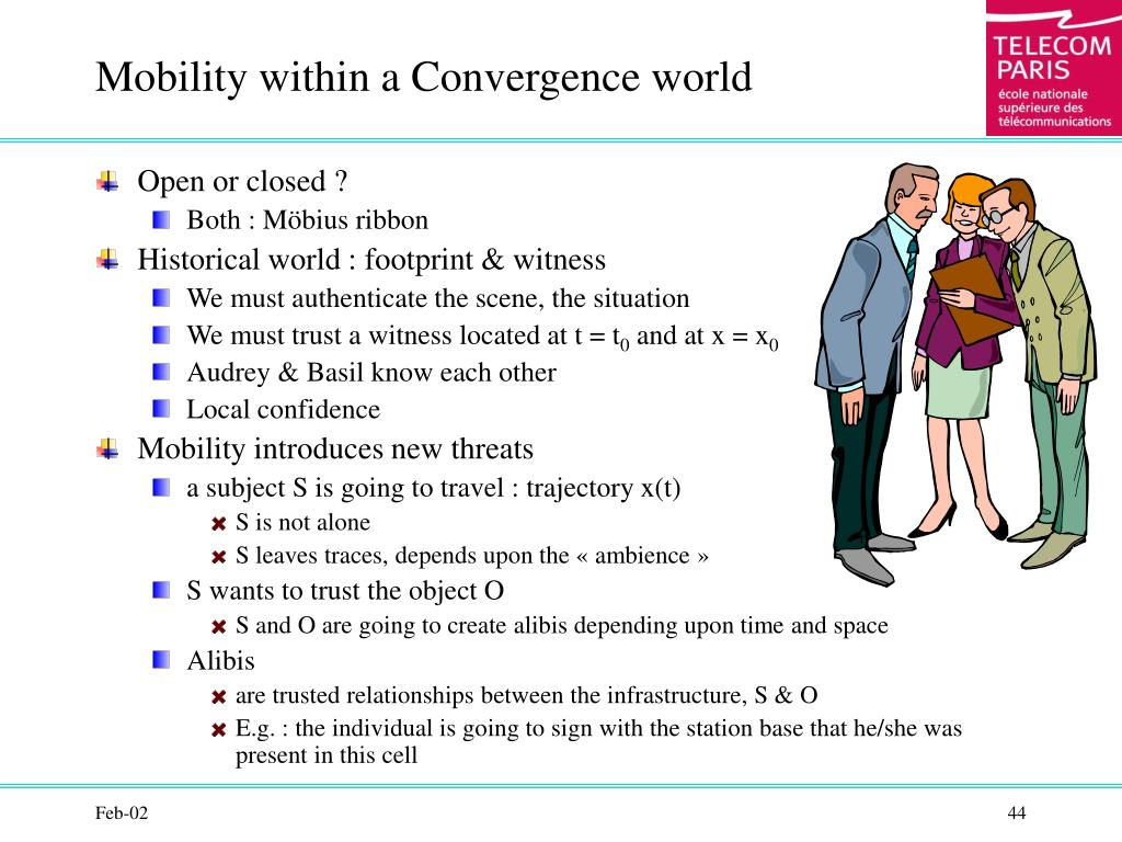 Mobility within a Convergence world