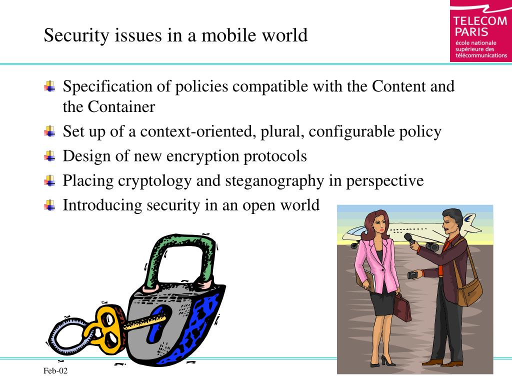 Security issues in a mobile world