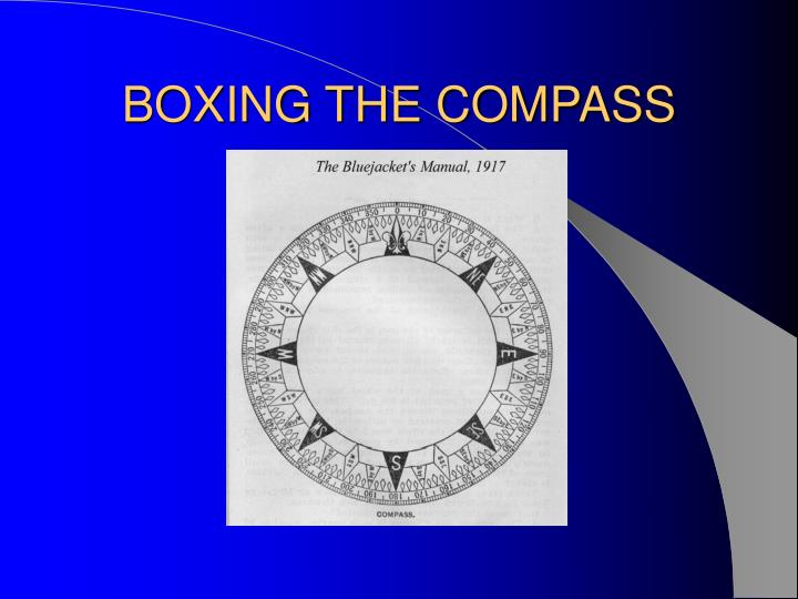 BOXING THE COMPASS