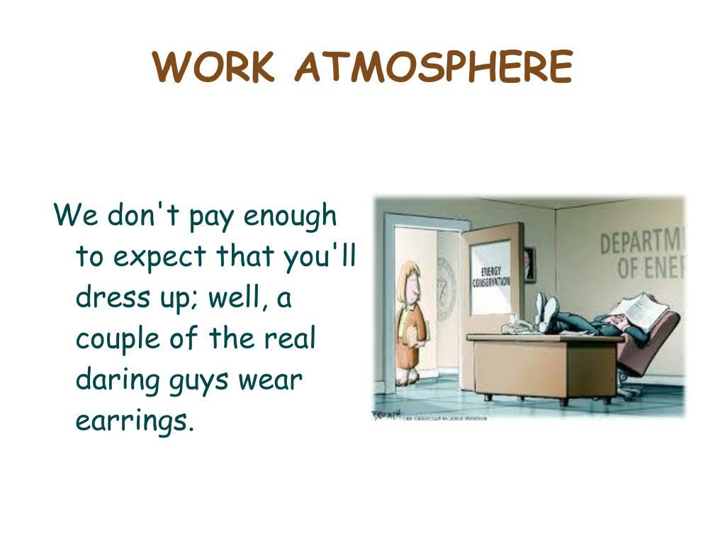 WORK ATMOSPHERE