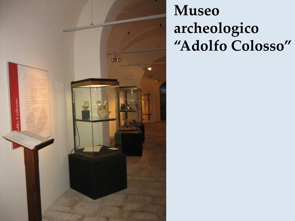 "Museo archeologico ""Adolfo Colosso"""