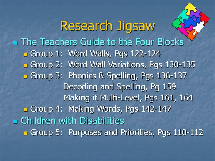 Research Jigsaw