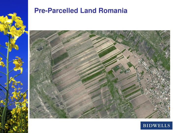 Pre-Parcelled Land Romania