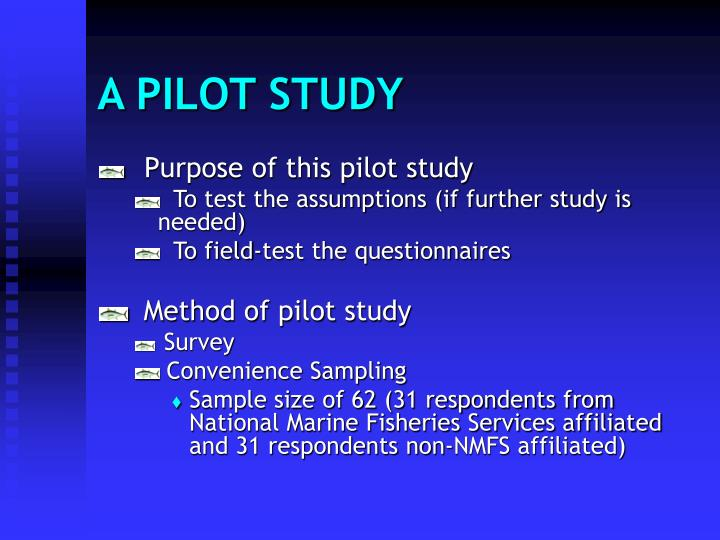 A PILOT STUDY