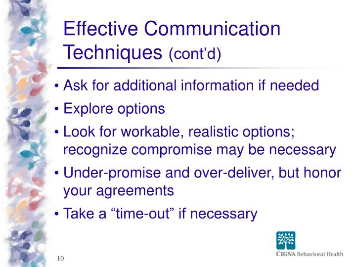 Effective Communication Techniques