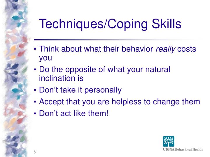 Techniques/Coping Skills
