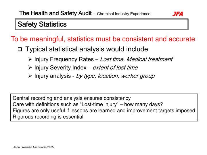 Safety Statistics