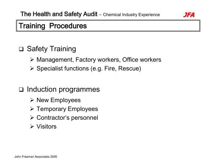 Training  Procedures