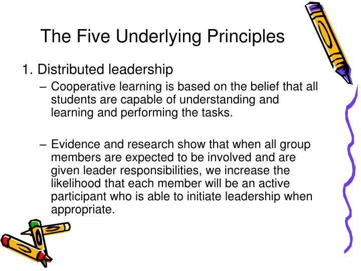 The Five Underlying Principles