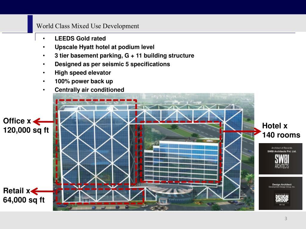 World Class Mixed Use Development