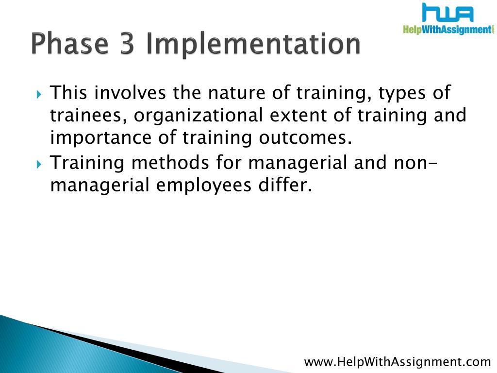 Phase 3 Implementation