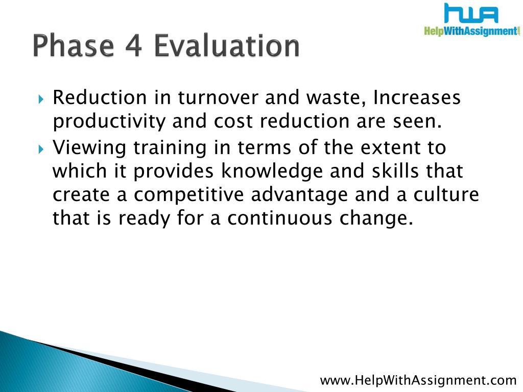 Phase 4 Evaluation