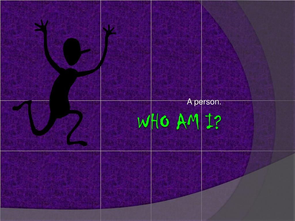 A person.