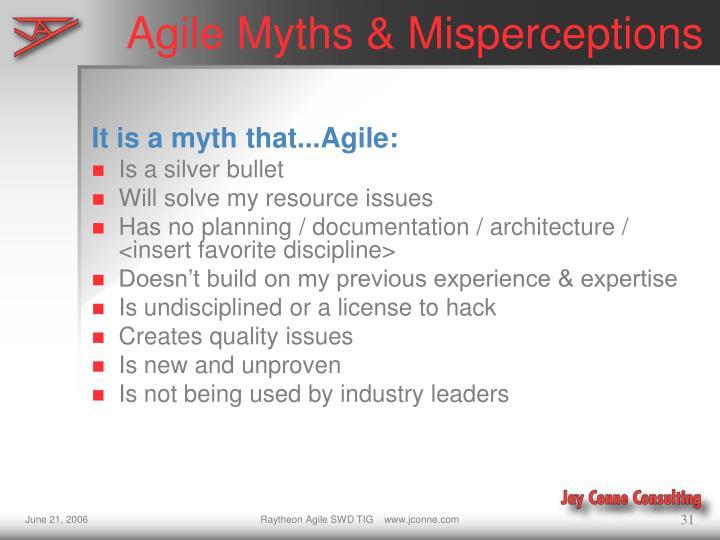 Agile Myths & Misperceptions