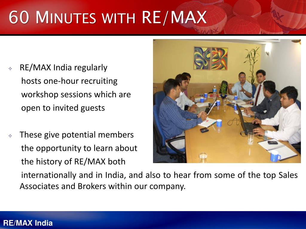 60 Minutes with RE/MAX