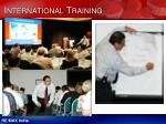 international training