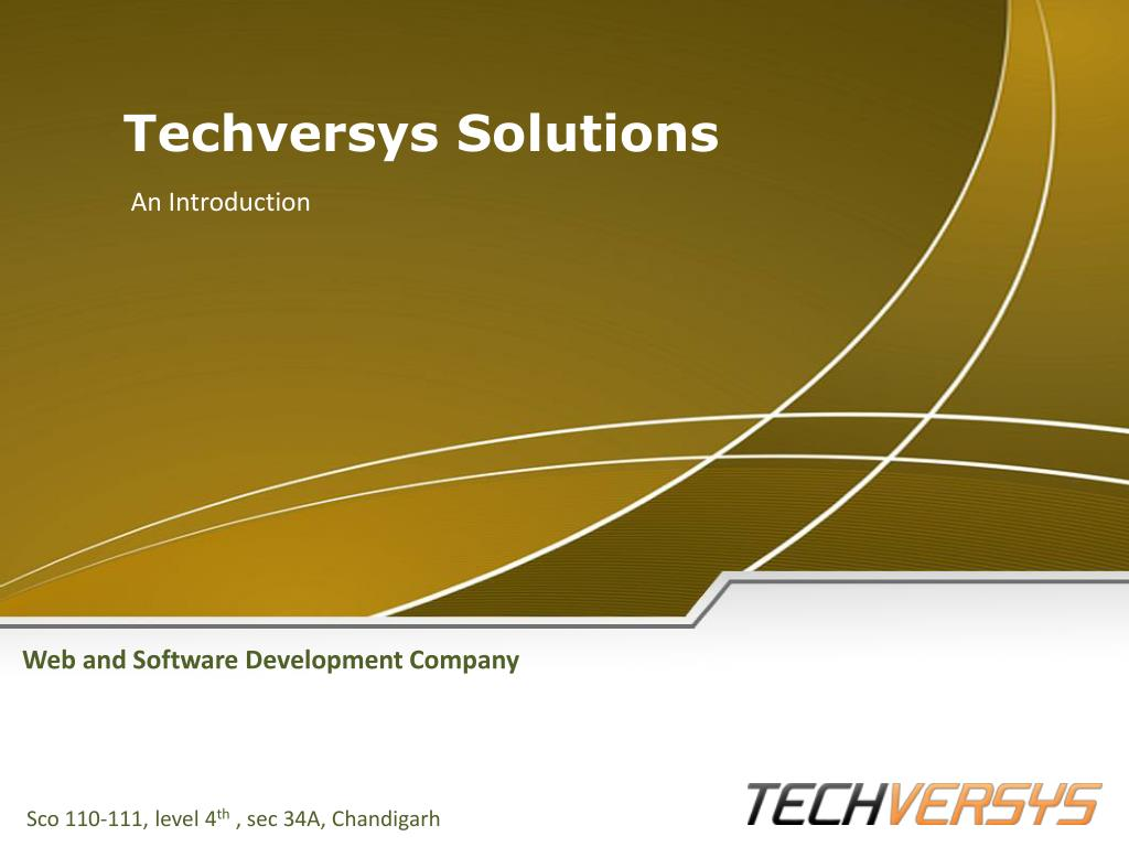 Techversys Solutions