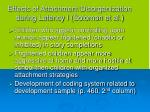 effects of attachment disorganization during latency i solomon et al
