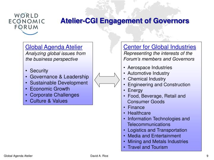 Atelier-CGI Engagement of Governors