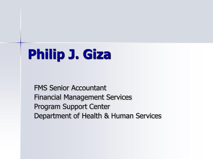 Philip J. Giza