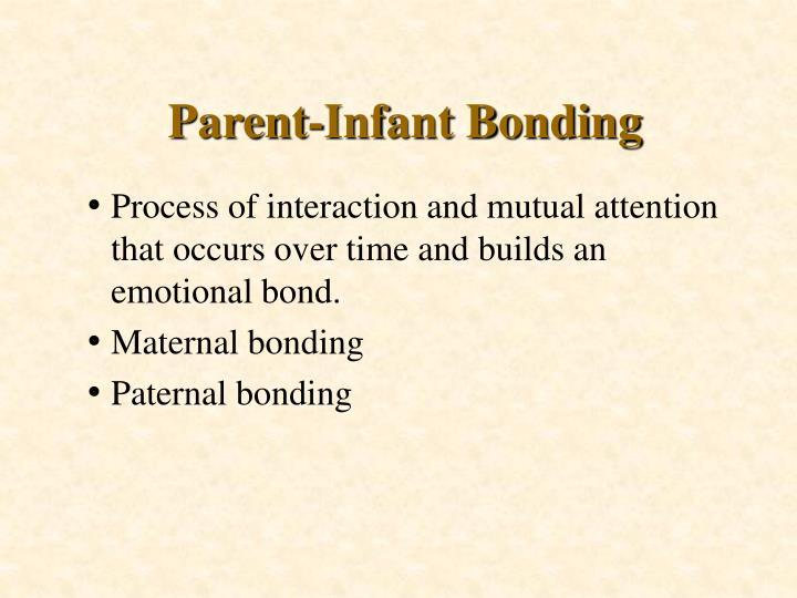 Parent-Infant Bonding