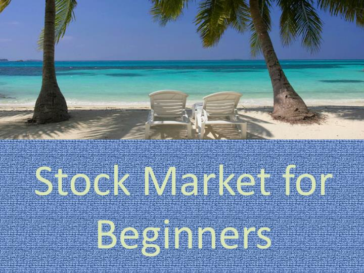 Stock market for beginners